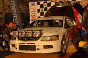 Read more about the article Várkonyi Szabolcs: Élveztük a Mitsubishivel való száguldást.