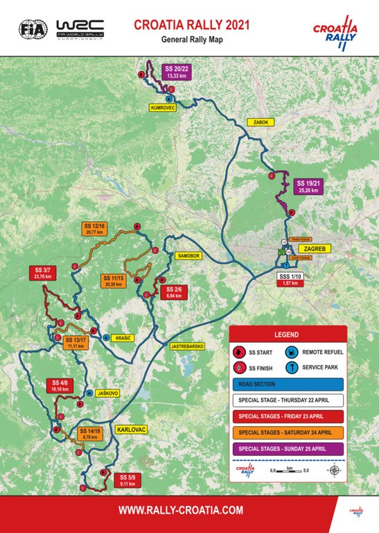 You are currently viewing Rally Croatia 2021 – Rally information