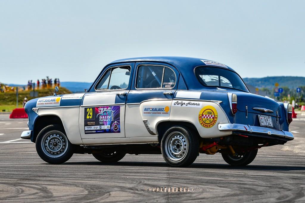 Moszkvics 403 Rallye (1964) a 2021-es Barum Star-on!