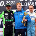 Benyó Máté FIA CEZ futamot nyert a SlovakiaRingen